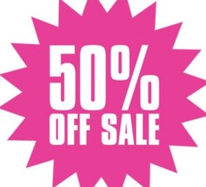 50% Off Any Bundle Of 3 Or More!!!!!